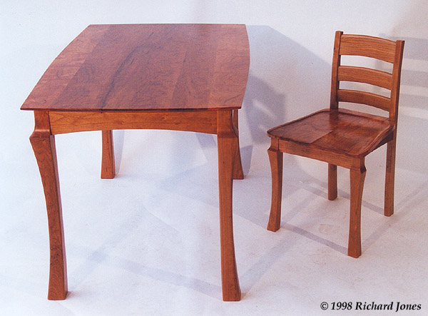 Cherry Table Chair
